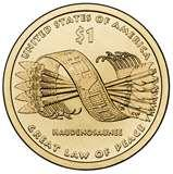 pictures of American Dollar Coin 2010