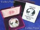 pictures of 1990 Silver American Eagle Proof