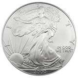 Silver Eagle Coin 2000 pictures