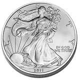 photos of Silver Eagle Coin 2000