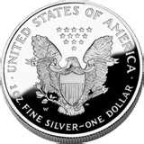 pictures of American Eagle Silver Dollar Proof Value