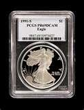 pictures of American Silver Eagle Coin Proof