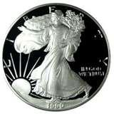 1990 Silver American Eagle Proof images