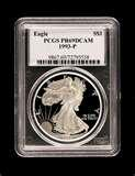 photos of American Eagle Silver Dollar 1998