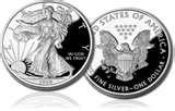 photos of American Silver Eagle Coin Proof