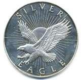 Silver Eagle Coin Eagle American 2009 pictures