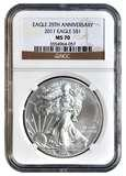 pictures of American Silver Eagle Coin Ms70