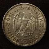 Nazi Silver Eagle Coin photos