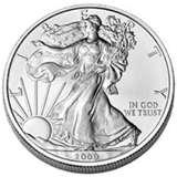 images of Us Mint 5 Coin Silver Eagle Set