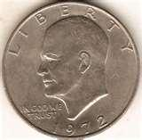 American Dollar Coin 1972 images