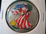 pictures of American Eagle Silver Dollar Value 2000