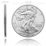 pictures of Silver Eagle Coin Review