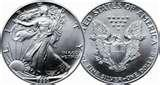 Eagle Silver Dollar 1990 photos