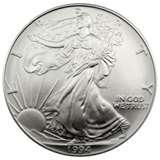 images of Silver Eagle Coin Review