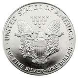 pictures of Silver Eagle Coin 1987