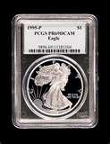 pictures of Silver Eagle Coin 1990 Silver