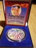 American Eagle Silver Dollar Value 2000 photos