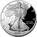 pictures of American Eagle Silver Proof 2006