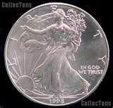 images of American Eagle Silver Dollar Value 1999