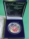 American Eagle Silver Dollar Value 1999 images