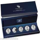 photos of American Eagle 25th Anniversary Silver Coin Set