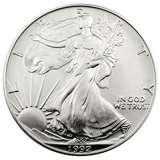 1992 American Silver Eagle Coin images