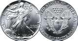 pictures of Us American Eagle Silver Dollar