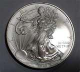 Silver Eagle Coin Photo photos