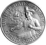 photos of American Dollar Coin 1976