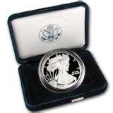images of Silver Eagle Coin Display