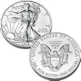 Silver Eagle Coin Cost pictures