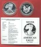 American Eagle Silver Dollar 1990 images
