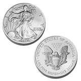 pictures of American Eagle Silver Dollar Ms70
