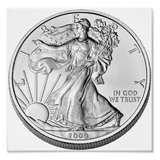 Silver Eagle Coin Photo pictures