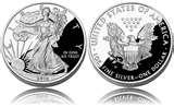 Silver Eagle Coin Photo images