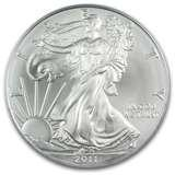 2011 Silver Eagle Dollar Coin images