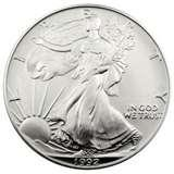 pictures of 1992 American Silver Eagle Coin