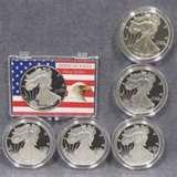 American Eagle Silver Dollar In Full Color 2000