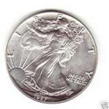 American Eagle Silver Dollar 1987 images