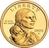 2000 American Dollar Coin Value images