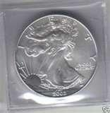 pictures of 2002 Silver American Eagle Coin