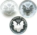 American Eagle 20th Anniversary Silver Coin Set pictures