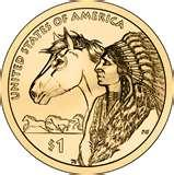 2000 Native American Dollar Coin images