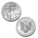 images of 2012 Silver Eagle Dollar