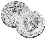 photos of American Eagle Silver Dollar Pricing Guide