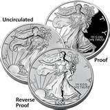 images of American Eagle 20th Anniversary Silver Coin Set