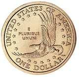 American One Dollar Coin 2000 pictures