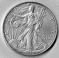 Silver Eagle Coin Wikipedia images
