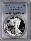 1991 Silver American Eagle Proof
