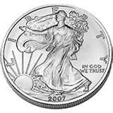 2004 Silver American Eagle Coin Value images